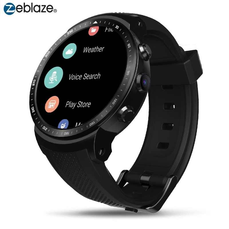 Asli Zeblaze Smart Watch Thor Pro 3G Android Smartwatch RAM 1GB + ROM 16GB Android 5.1 GPS WIFI Bluetooth Dial Jam Tangan