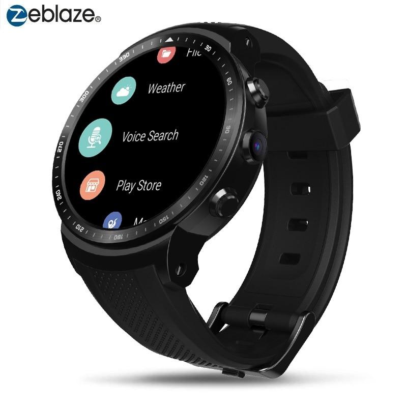 Original Zeblaze Smart Watch THOR PRO 3G Android Smartwatch RAM 1GB+ROM 16GB Android 5.1 GPS WiFi  Bluetooth Dials Wristwatches