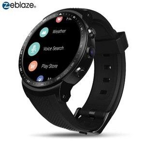 Image 1 - Original Zeblaze Smart Watch THOR PRO 3G Android Smartwatch RAM 1GB+ROM 16GB Android 5.1 GPS WiFi  Bluetooth Dials Wristwatches