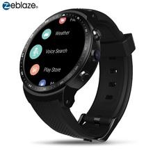 Oryginalny Zeblaze smart watch THOR PRO 3G inteligentny zegarek Android RAM 1 GB + ROM 16 GB Android 5 1 GPS WI-FI Bluetooth tarcze zegarki na rękę tanie tanio Elektroniczny Passometer Czas światowy Tętna Tracker Stały Kalendarz 24 godzin instrukcji Wiadomość przypomnienie Wybierania połączeń