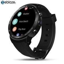기존 Zeblaze 스마트 시계 토르 프로 3G 안드로이드 Smartwatch RAM 1GB + ROM 16GB 안드로이드 5.1 GPS 와이파이 블루투스 다이얼 손목 시계