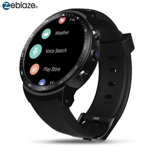 Image 1 - 기존 Zeblaze 스마트 시계 토르 프로 3G 안드로이드 Smartwatch RAM 1GB + ROM 16GB 안드로이드 5.1 GPS 와이파이 블루투스 다이얼 손목 시계