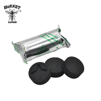 20Rolls/lot A Box Lemon Flavored Hookah Charcoal Shisha Hookah Charcoal Quick-lighting Burn Even Lasting Long Flavored Charcoal 5