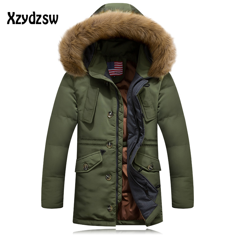 Compare Prices on White Winter Jackets Men- Online Shopping/Buy ...