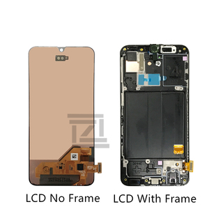 Image 2 - Super AMOLED For Samsung A40 LCD A405 LCD display touch Screen Digitizer Assembly with frame a40 screen replacement repair parts
