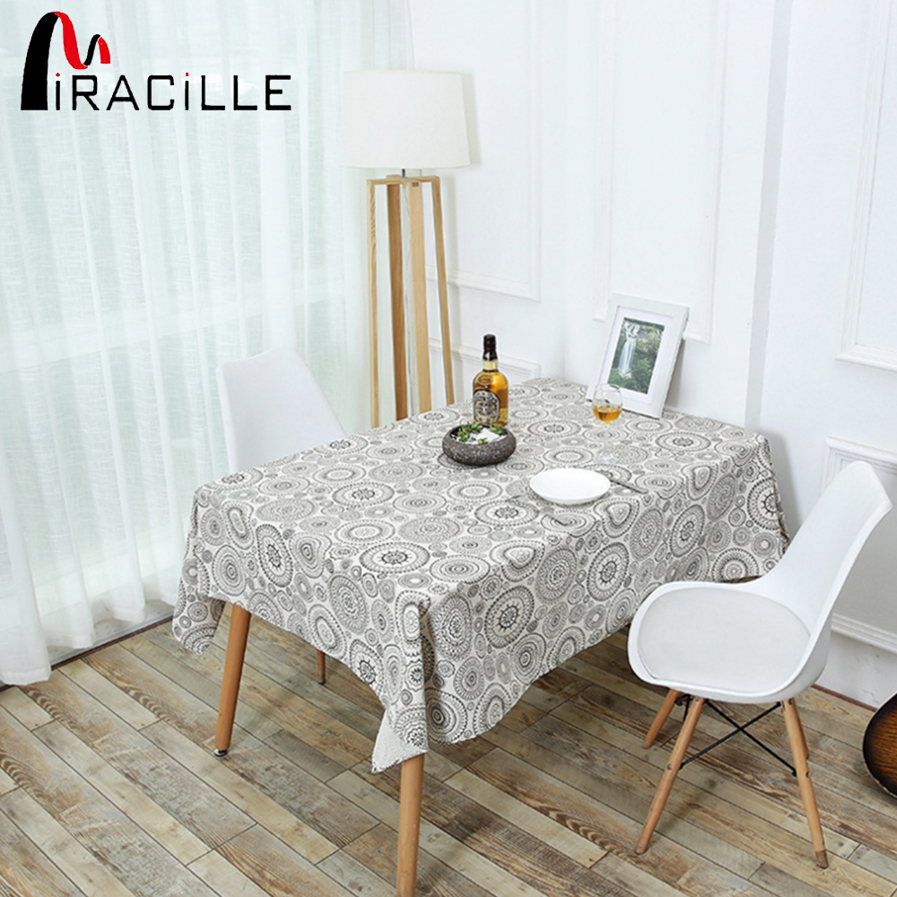 Miracille India Table Cloth Mandala Printed Bohemian