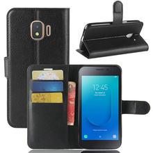 Caso de Telefone Carteira para Samsung Galaxy Núcleo J2 J2 WIERSS Pro 2018 Fundas J2 2018 Caso Capa Estojo de Couro Da Aleta capa Coque>
