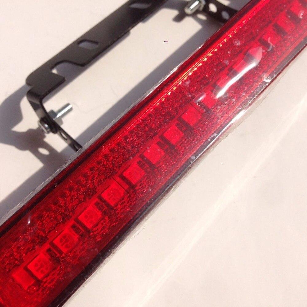 US $25 1  20led Car additional Third brake light Daytime running taillight  Rear Stop brake strobe flashing warning hazard flasher fog lamp-in Signal