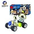 Lua de Observação Espacial Veículo Carro Brinquedos de Montagem de Blocos de Construção Tijolos de Educação Científica E Tecnológica