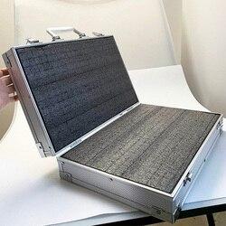 Ящик для инструментов алюминиевый чехол для инструментов чемодан коробка для файлов ударопрочное Оборудование камера корпус ящик для инст...