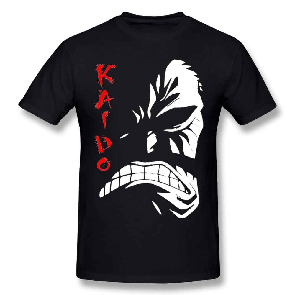 One Piece Emperor Kaido T Shirt For Man Graphic Digital Direct Print Tee Pure Cotton BONADIAO Design Clothes Camiseta