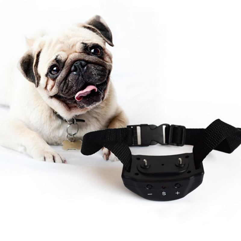 New Arrival Anti Barking Pet Dog Training Vibration Remote Collar Electric Shock Non-barking Electric Hot Selling Supplies Pets