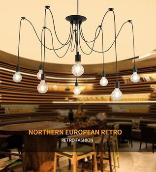 SOLLED винтажная многослойная потолочная лампа Подвеска для декоративного освещения