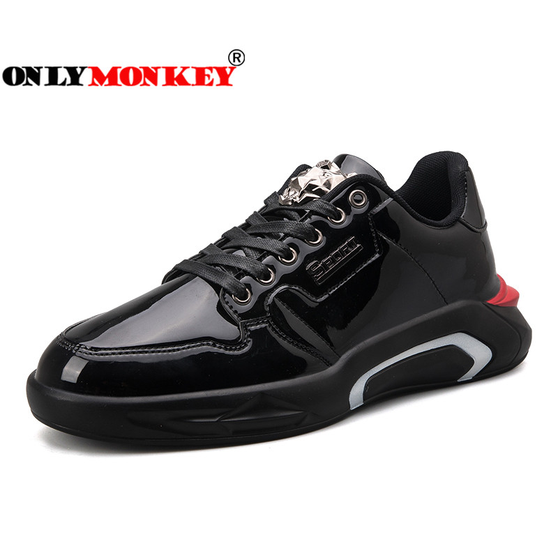 ONLYMONKEY 2018 Lace Up Running Shoes Men Light Weight Breathable Comfortable Sport Shoes Men Running Mens