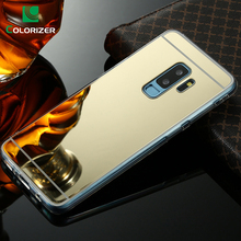 Luxury Mirror TPU Cases For Samsung Galaxy Note 9 Note 8 S8 S9 Plus Plating Back Cover For S6 S7 Edge A3 A5 A7 2017 A8 2018 Plus