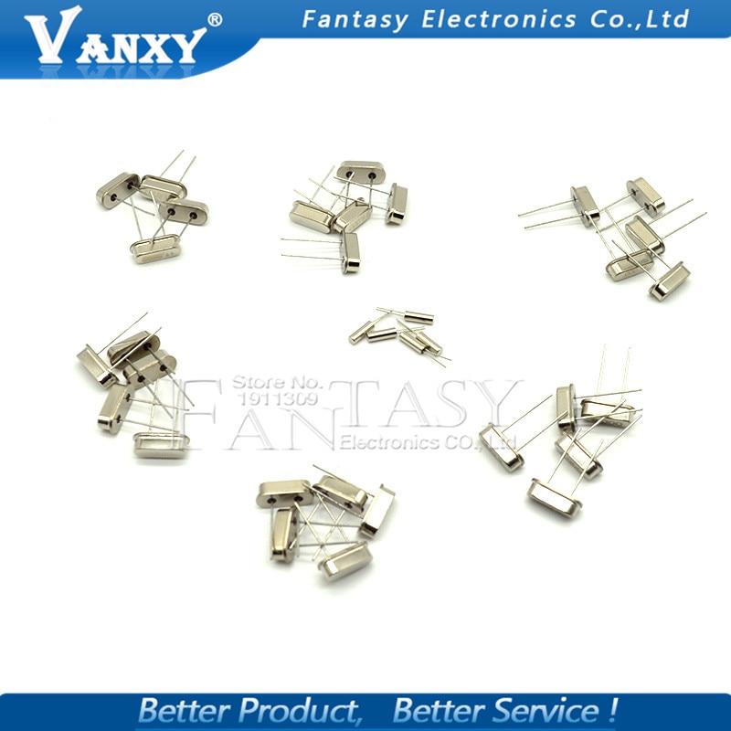 10values*20pcs=200pcs Crystal Oscillator Assorted Kit Assortment Set 32.768khz 2x6 4mhz~48mhz 49s Online Shop Integrated Circuits Electronic Components & Supplies