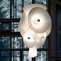 Modern Nebula White Hanging Lamp Nordic Droplight Home Indoor Lighting Dining Room Restaurant Clubs Cafes Pendant Lights Fixture