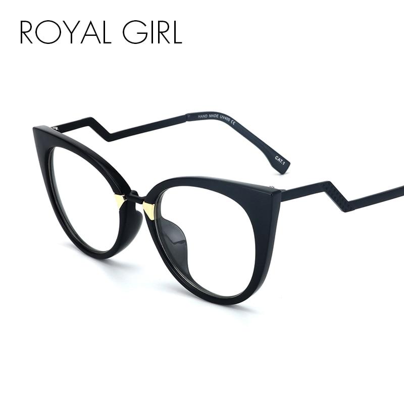 Women's Glasses Royal Girl Anti-radiation Goggles Plain Mirror Square Glasses Fashion Men Women Alloy Leg Unisex Optical Eyeglasses Os015 Apparel Accessories