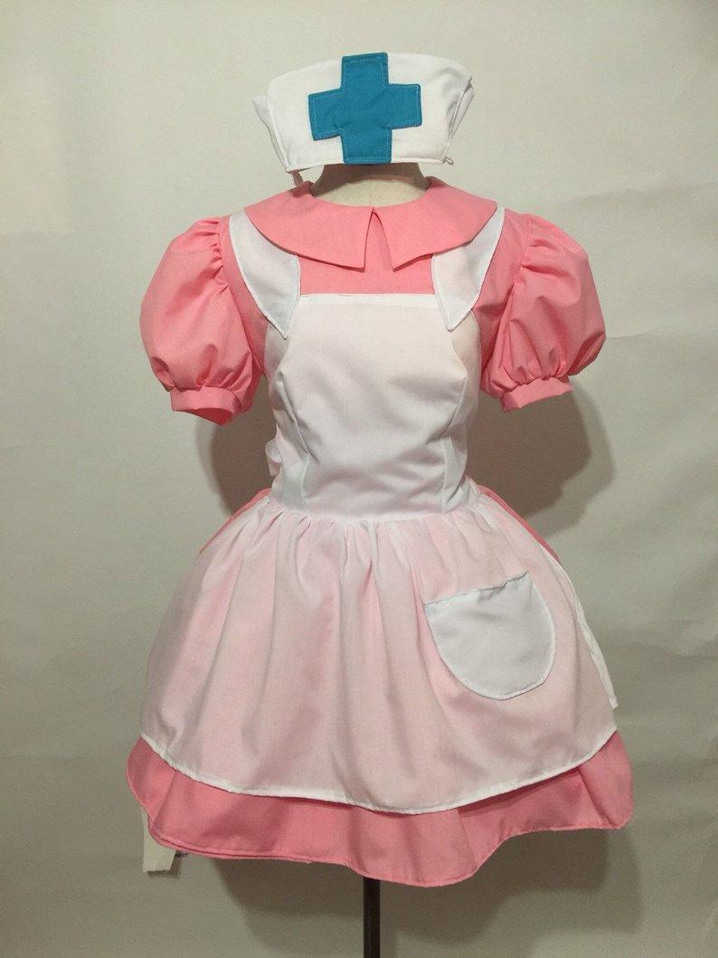 Pokemon poche monstres infirmière joie Cosplay Costume robe adulte femmes Halloween Cosplay vêtements sur mesure