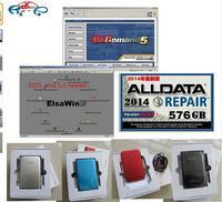 2018 Newest Alldata 10.53 all data auto repair software alldata mitchell on demand 2015+ElsaWin+Vivid workshop alldata 1tb hdd