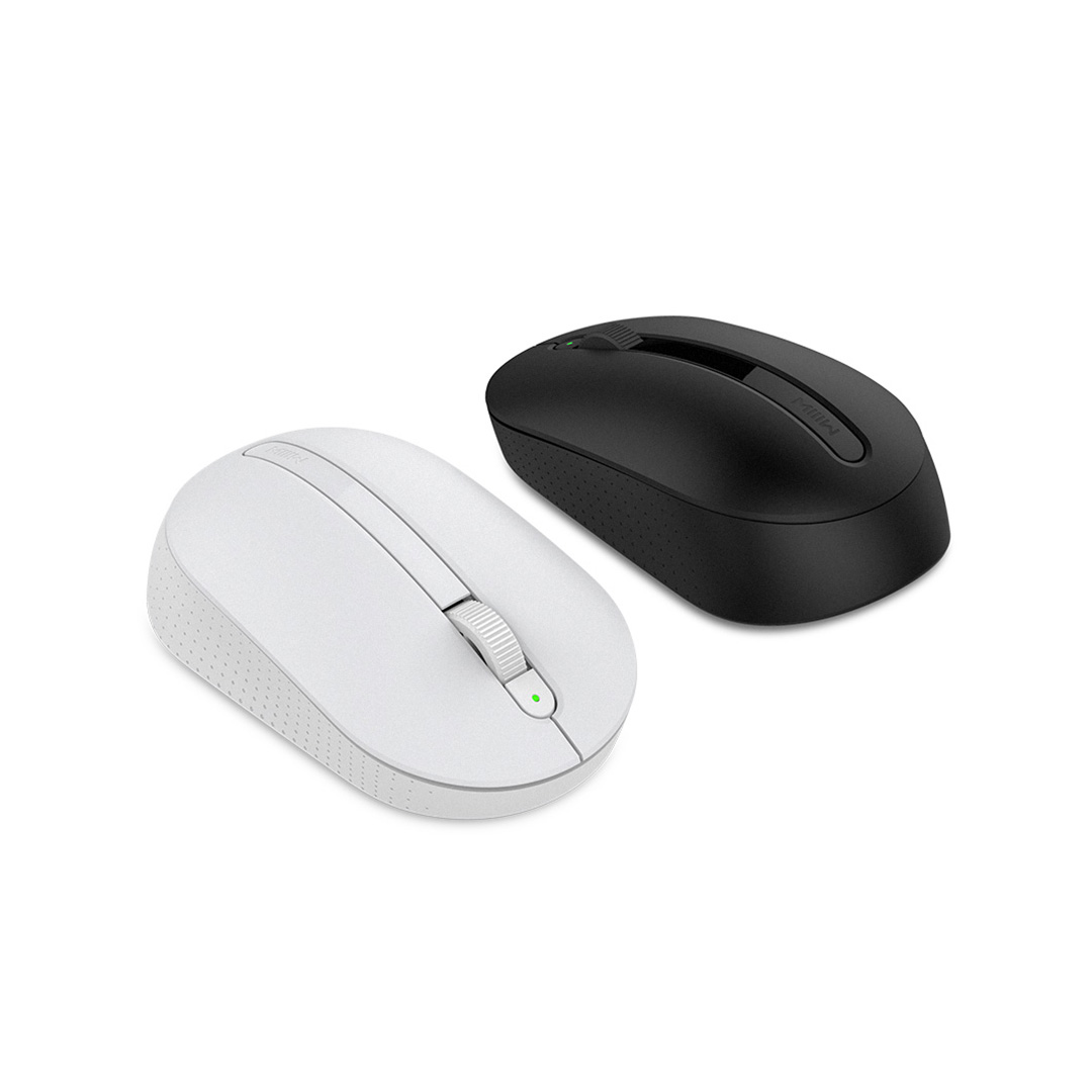 Image 4 - Xiaomi MIIIW Wireless Mouse Soft Touch Ergonomic Mouse Optical Mice 2.4G Wireless Mouse USB Receiver For Win7/8/10/XP Mac OS-in Mice from Computer & Office