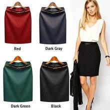 цены на ZOGAA Women Fashion Skirt OL Business Career Womens Slim Fitted Knee Length Pencil Skirt High Waist Elegant Moda Mujer 2018  в интернет-магазинах