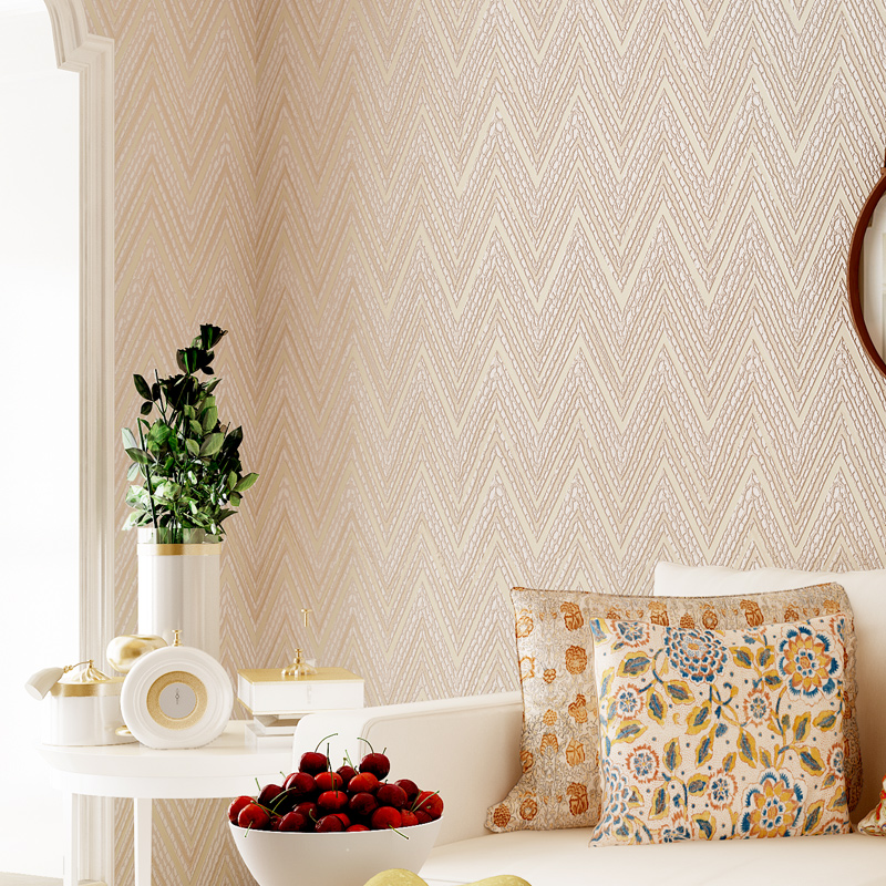 3D Mural Wallpaper Roll Non Woven Wallpaper Modern Geometric Waves Wall Paper 3D for Background Walls murales para pared 3d