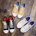 2017 Sapatos Sapatas de Lona Super Todo o Plano Básico Das Mulheres Clássico Sapatos casuais Venda Quente 5 Estrela Sapatos Flats Varejo E atacado-Um