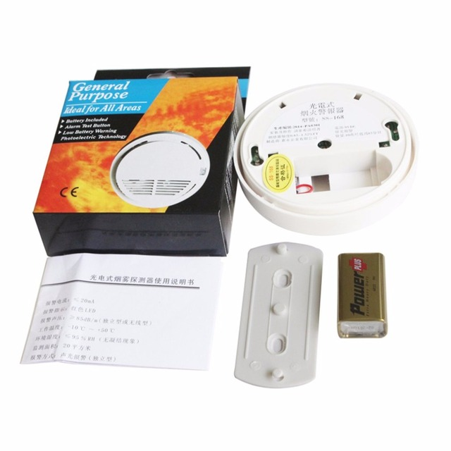 LESHP For All GSM 433MHZ Alarm System Fire Protection