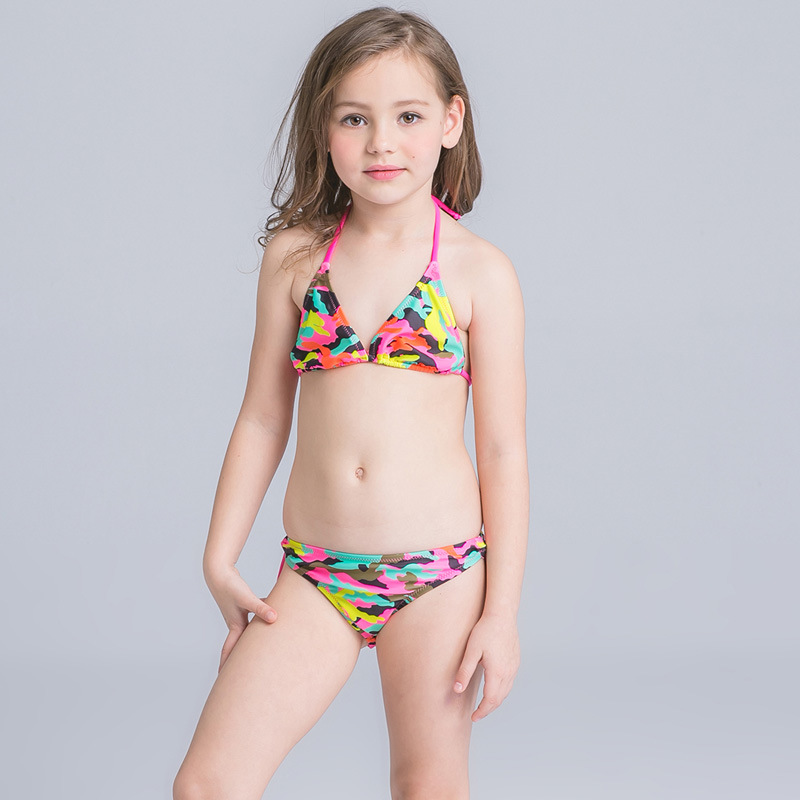 Bikini Set Junior Girls Children Swimwear Kids Summer Swimsuit Girl Swimming Suit Kids B ...