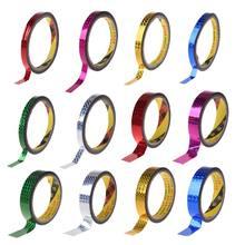 Décoration de gymnastique rythmique holographique RG prismatique paillettes bande cerceaux bâton