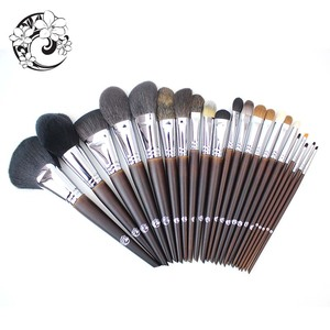 Image 2 - ENERGY Brand Professional 22pcs Makeup Goat Hair Brush Set Make Up Brushes +Bag Brochas Maquillaje Pinceaux Maquillage tm1