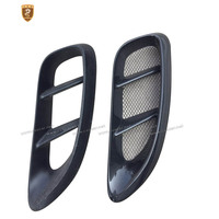 For Porsche 718 Boxster Carbon Fiber Side Vent Fibre Air Duct A Pair of Accessories Racing Trim Car Styling Fit For 718 2015