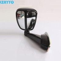 1 pc espelho lateral do carro universal espelho de ponto cego auto espelho retrovisor lateral para toyota prado land cruiser mitsubishi pajero suv