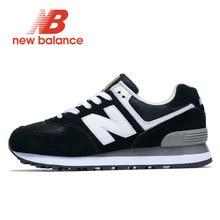Black New Balance Men Retro Running Shoes NB 574 zapatos de