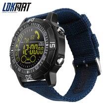 Homens esporte Relógio De Pulso Inteligente bluetooth Smartwatch À Prova D' Água 5ATM digital Passometer Lembrete Mensagem Para ios Android Phone