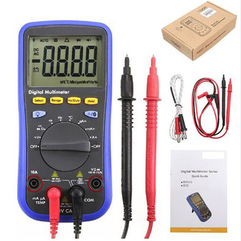Hot Sale OWON Bluetooth Digital Multimeter With High Performance K-Type Thermocouple Temperature Test LCD Backlight Mulitimeter