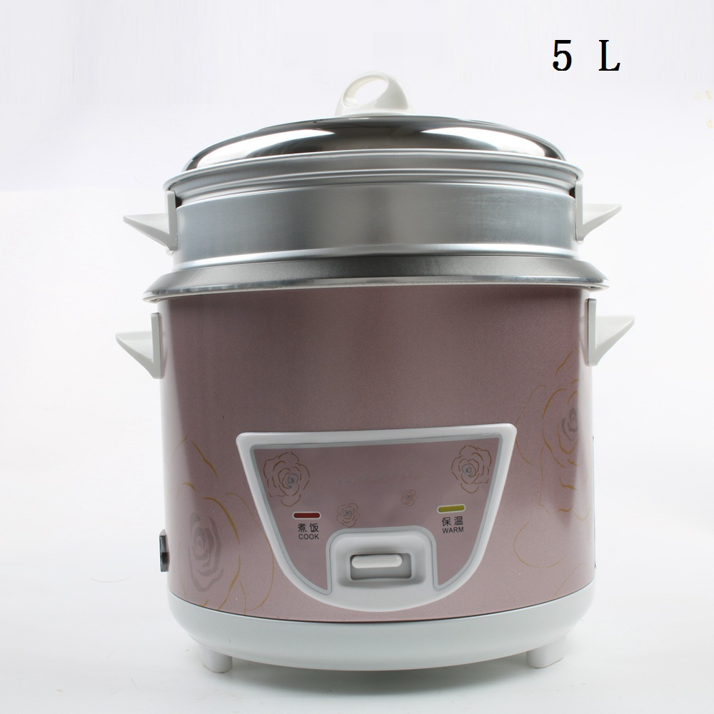 DMWD 5L Mini Automatic Rice Cooker Electric Food Steamers Non-stick Cake Maker For Home Top Quality 900W 220V цена и фото