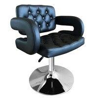 Shellhard Регулируемый парикмахерское кресло кожа укладки красоты парикмахерское кресло Красота оборудования салон мебели черный/белый