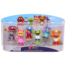 Muppets 14436 Bebês 6 Pack Figura brinquedos boneca muppets kermit the frog muppet(China)