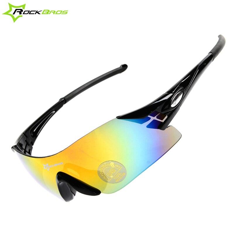 ae57fd40fd Rockbros frameless Ciclismo Gafas de sol bicicleta Bicicletas deportes  Gafas deportes al aire libre windproof Gafas de sol, solo Objetivos, 5  colores