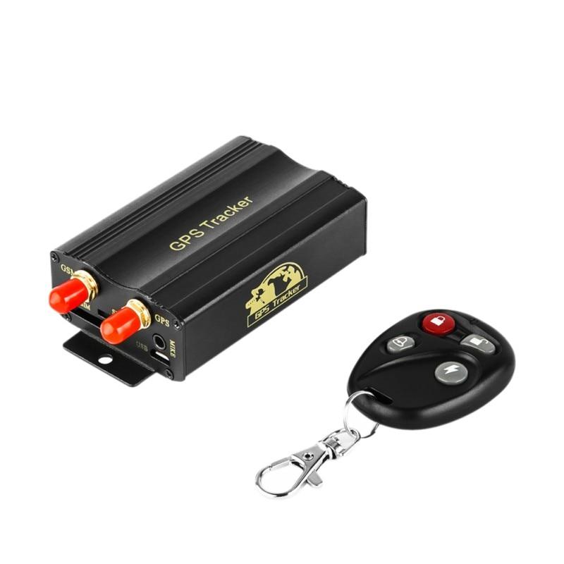 Gps103b gsm/gprs/gps auto rastreador tk103b carro gps tracker dispositivo de rastreamento com controle remoto anti-roubo sistema de alarme de carro novo