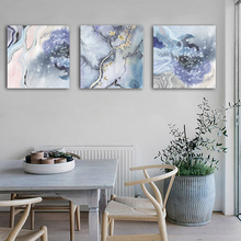 Modern Minimalistic Colored Abstract Striped Canvas Painting Art Print Poster Picture Wall Bedroom Living Room Office Home Decor