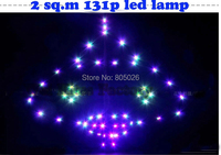 Free Shipping High Quality 2 Sq M Led Kite Fun Ufo Kite 131p Super Flux With