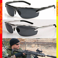 LUXO TAC POLICIAL MARINHA MODELO de Motorista reforçada polarizada golfe polaroid polarizada UV 400 óculos de sol dos homens 6825