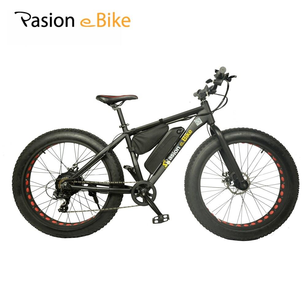 PASION E BIKE 36V 500W powerful electric fat bike 36V Lithium Battery E bicycle 26