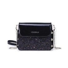 цены на Luxury Brand Day Clutches Women Shoulder Bag Glitter With Chain Strap Mini Flap Shoulder Bag For Women 2019 Fashion Vintage  в интернет-магазинах