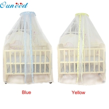 Ouneed Lovely Pets Factory Price Summer Baby Bed Mosquito Mesh Dome shaped Curtain Net for Toddler Crib Cot Canopy Aug25(China)