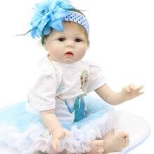 Ucuz Boy Oyuncak Satış 22 inç Reborn Silikon Vücut Gerçek Bebek El Yapımı Doll Reborn Bebek Bebekler Gibi Bakmak