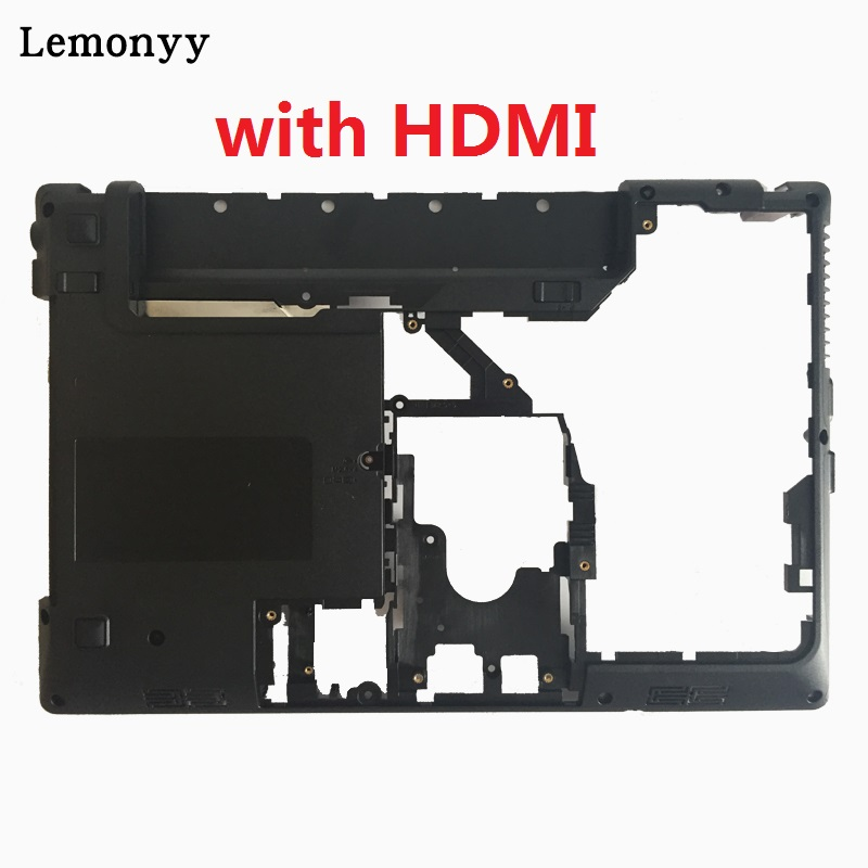 NEW Bottom case For Lenovo Ideapad G470 G475 Laptop Bottom Base Case Cover With HDMI new original bottom case for lenovo ideapad z570 bottom base z575 z570 cover z570 case p n 60 4m424 004 60 4m424 005